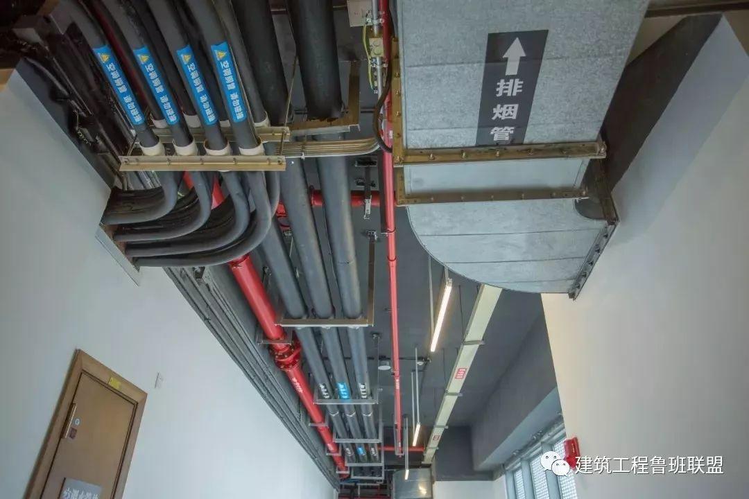 机电管道防腐绝热与标识如何做?鲁班奖工程示例!