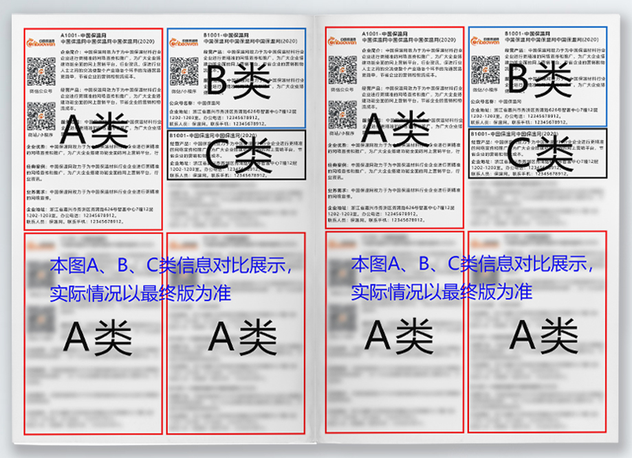 《保温材料行业名录2020-2021》企业名录报名表(B类)插图